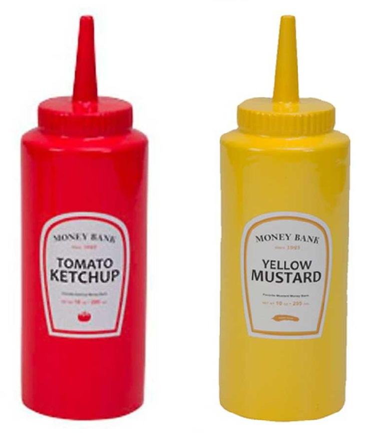 Cofre ketchup e mustard for Porta ketchup