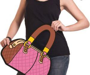 Bolsa 3D Maxi Fashion alça Marrom