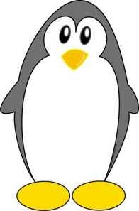 imã de geladeira Pinguinzão