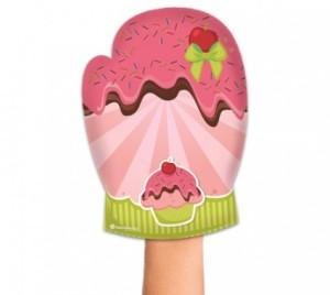 Luva de cozinha Cupcake 1