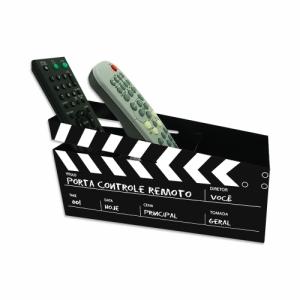 Porta Controle Remoto Cinema 3