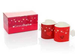 Caneca Dupla I love You