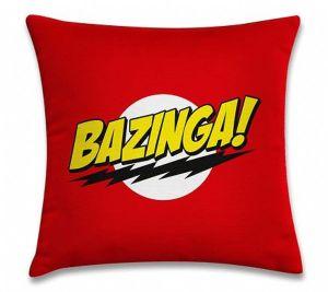 Almofada divertida Bazinga!