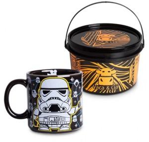 Caneca Preta na Lata Coffee Trooper 1