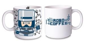 Caneca Robo Coffee