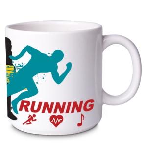 Caneca Running Branca 2