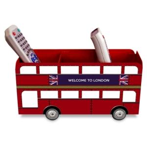 Porta controle remoto ônibus Londres 3