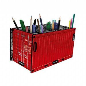 Porta treco container vermelho