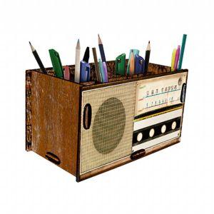 Porta treco rádio vintage