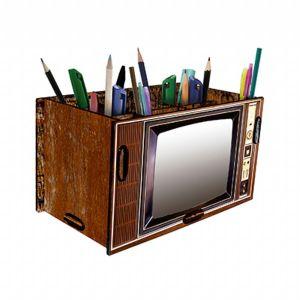 Porta treco tv retrô