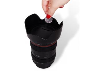 Cofre lente fotográfica