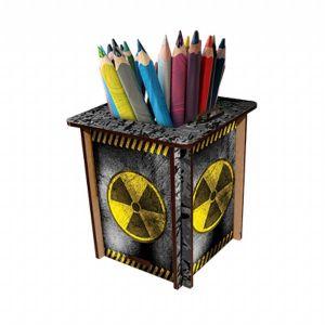 Porta canetas radiação