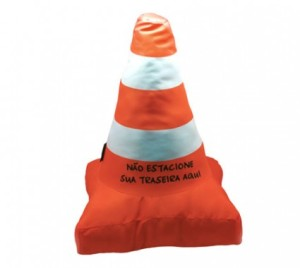 Almofada Cone de trânsito 1