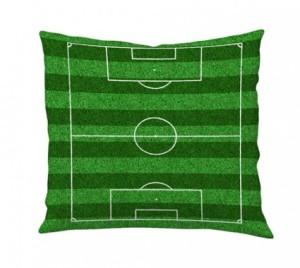 Capa de almofada campo de futebol